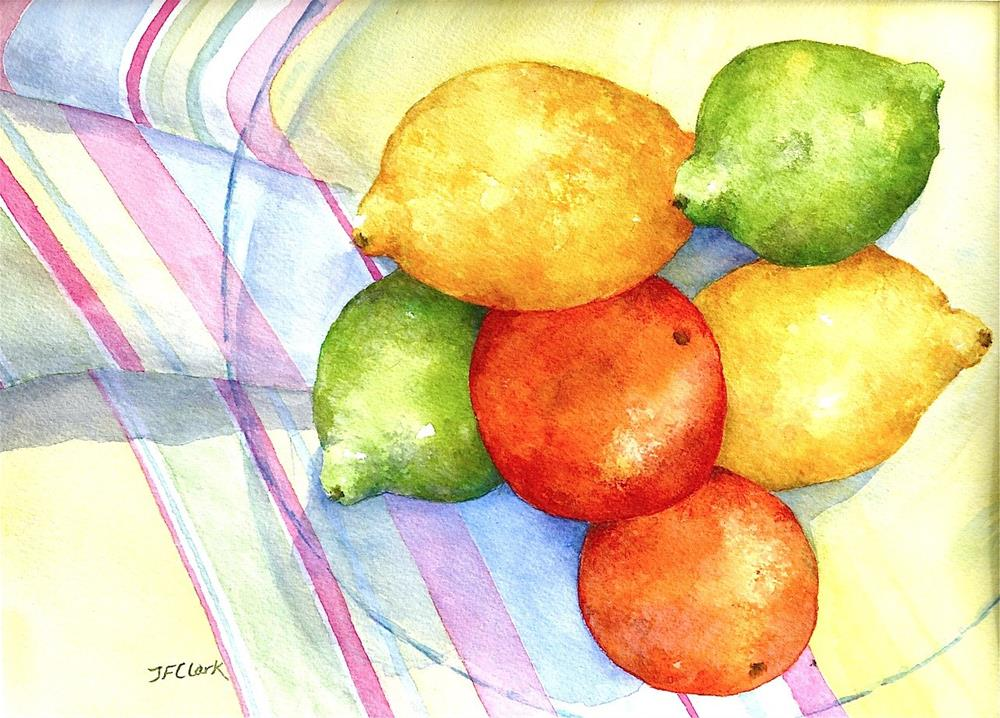 """Kitchen Sunshine"" original fine art by Judith Freeman Clark"