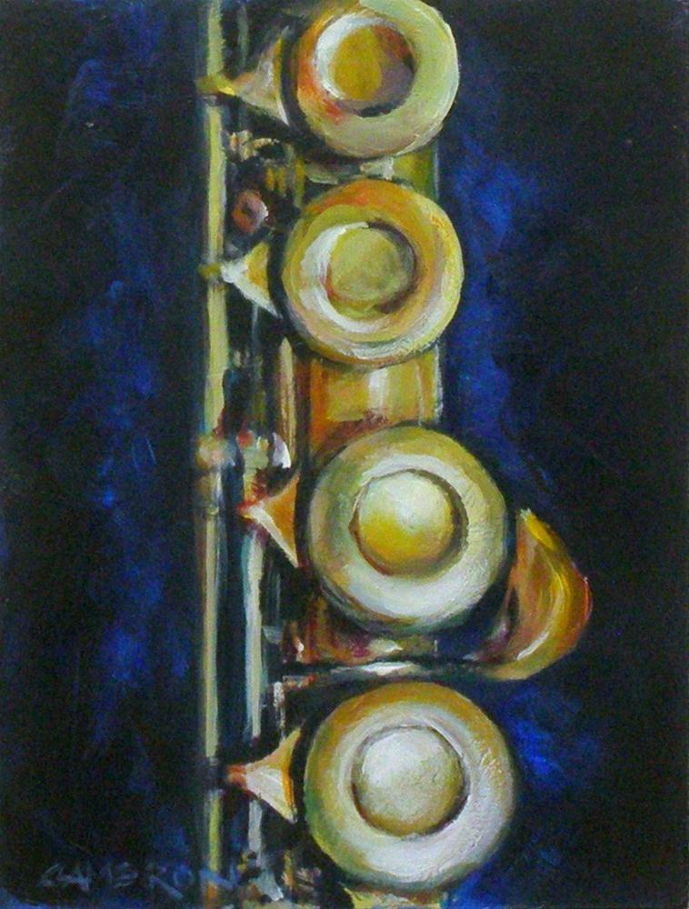 """""""THE FLUTE"""" original fine art by Brian Cameron"""