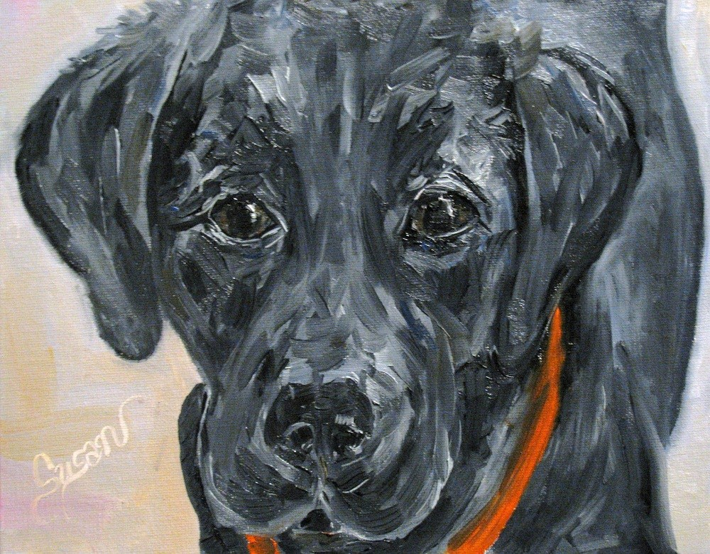 """Forever Faithful"" original fine art by Susan Elizabeth Jones"