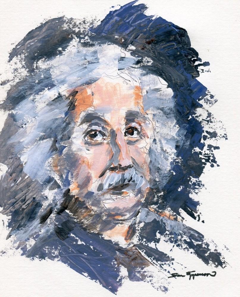 """""""Albert"""" original fine art by Stanley Epperson"""