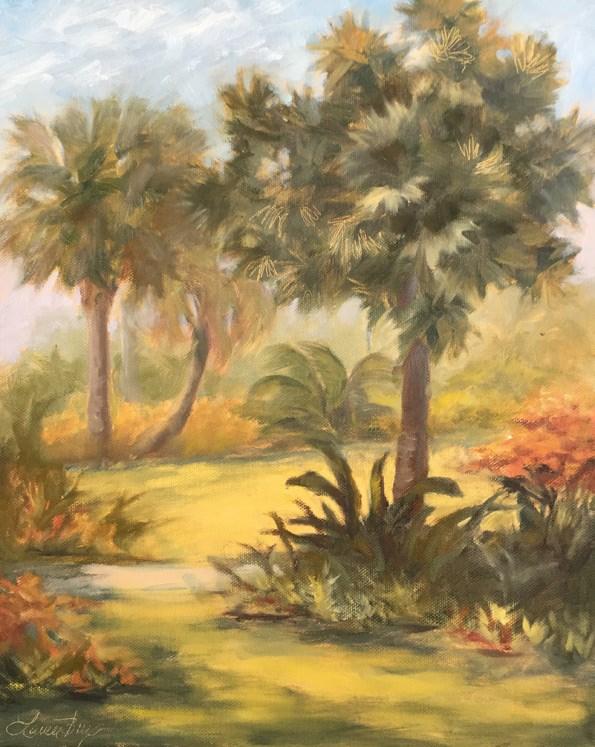 """Naples Botanical Garden 509"" original fine art by Laura  Buxo"