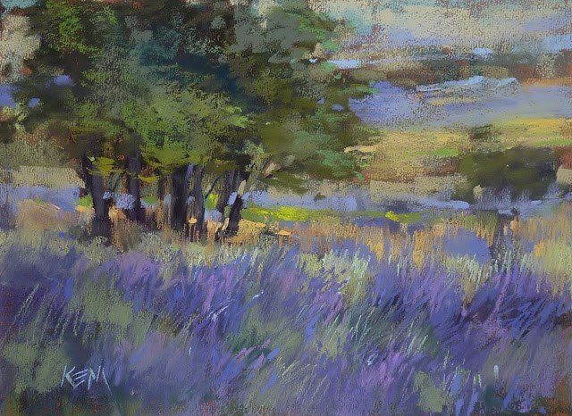 """""""What I learned from 10 Years of Painting Practice"""" original fine art by Karen Margulis"""