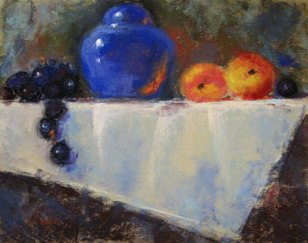 """""""On the white table cloth"""" original fine art by Sunkyung Choi"""