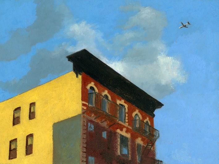 """Flying Away"" original fine art by Nancy Herman"