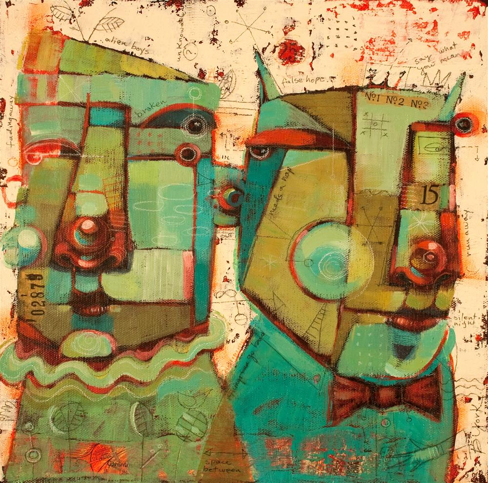 """Bar And Grill"" original fine art by Brenda York"