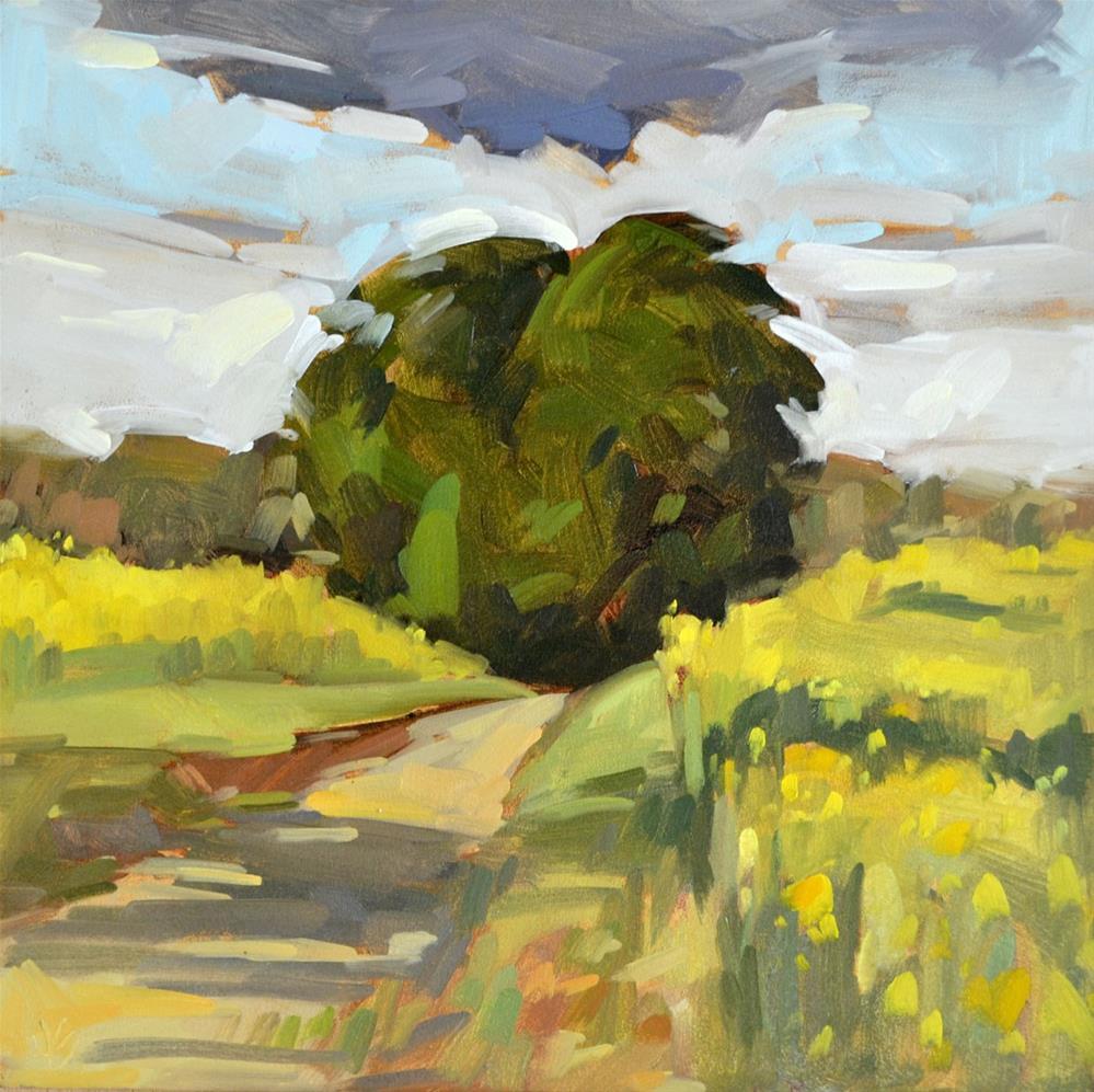 """Spring Color Splash"" original fine art by Jessica Green"