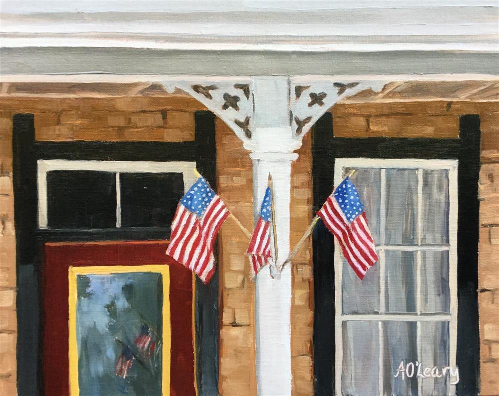 """""""American Trio"""" original fine art by Alice O'Leary"""