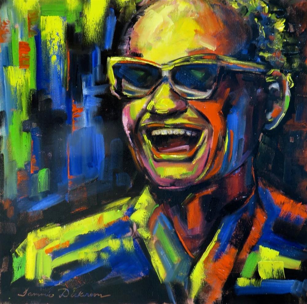 """Ray"" original fine art by Tammie Dickerson"
