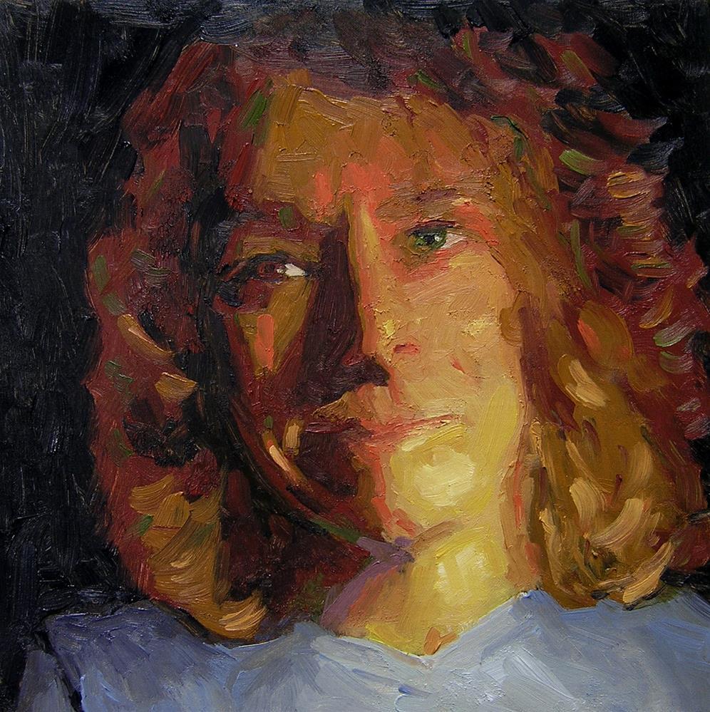 """Self-Portrait"" original fine art by Nina Brodsky"