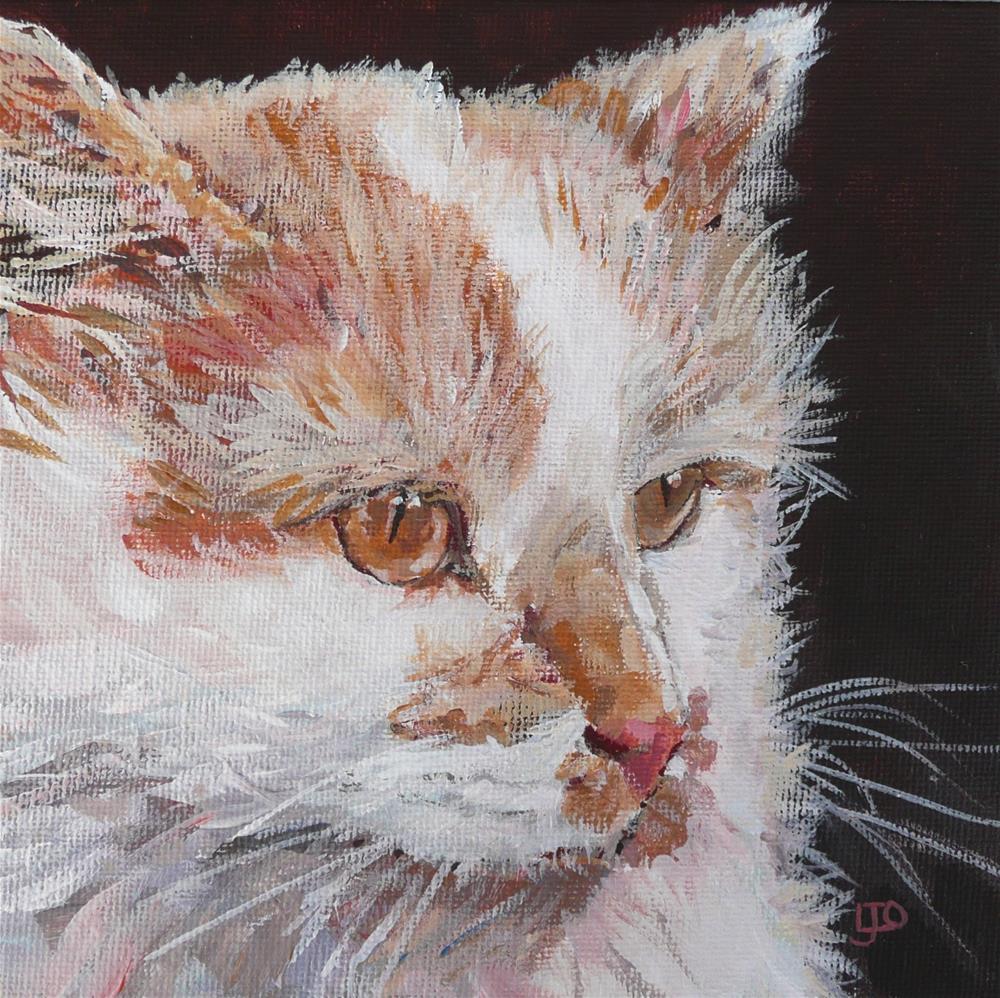 """""""Olive #2"""" original fine art by Leanne Owen"""