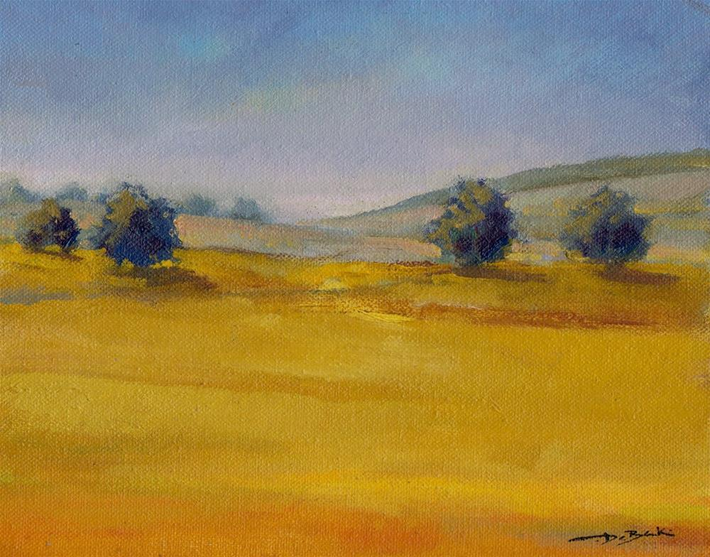 """too dry"" original fine art by Mark DeBak"