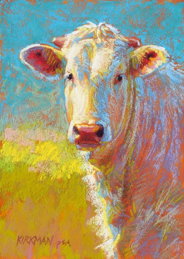 """Tofu - day 30"" original fine art by Rita Kirkman"