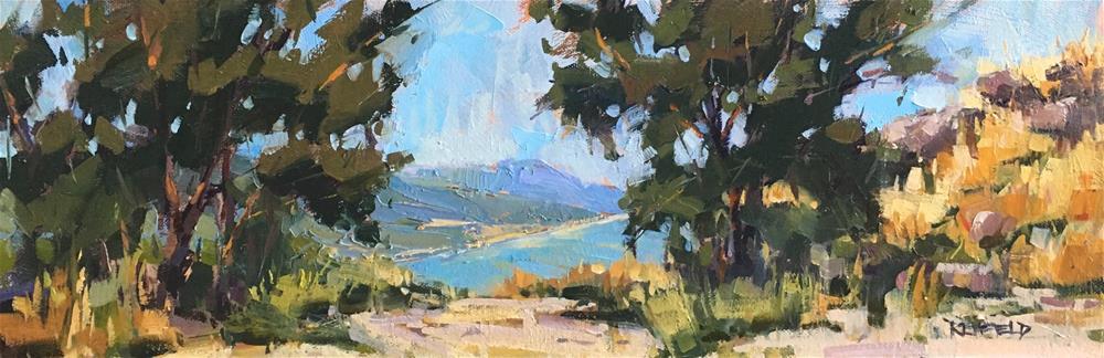 """Summer View"" original fine art by Cathleen Rehfeld"