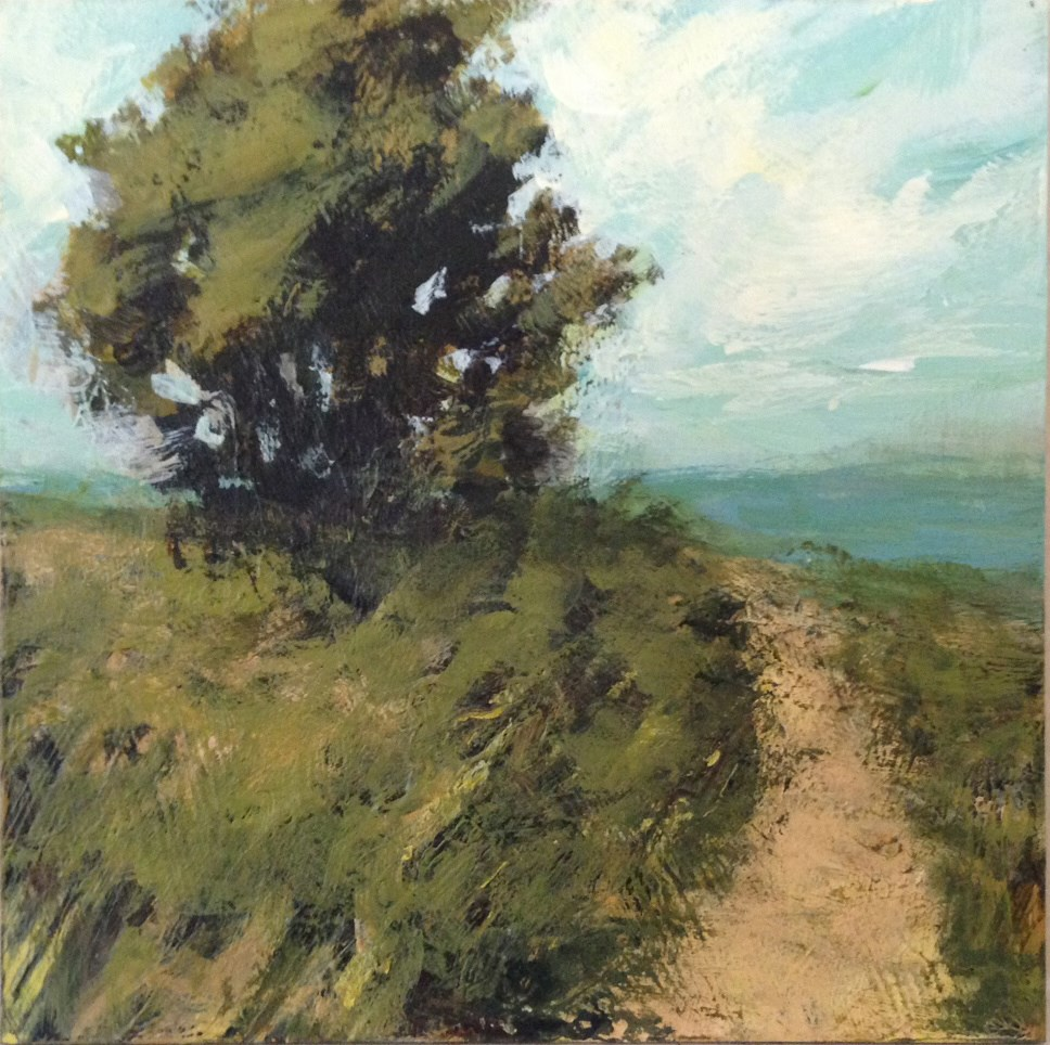 """Beach Path"" original fine art by Shannon Bauer"