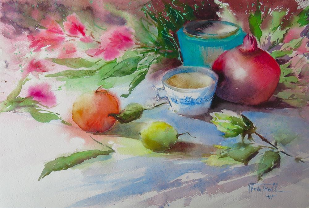 """""""Still Life III"""" original fine art by Christa Friedl"""