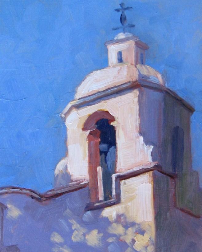 """Pauline Chapel"" original fine art by Pam Holnback"