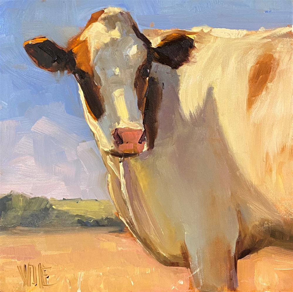 """Cow Patrol"" original fine art by Patty Voje"