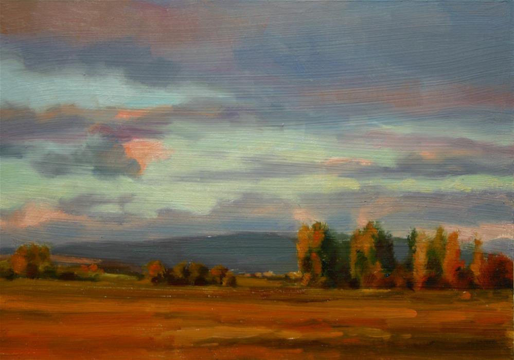 """""""Sunlit Morning"""" original fine art by K.R. McCain"""
