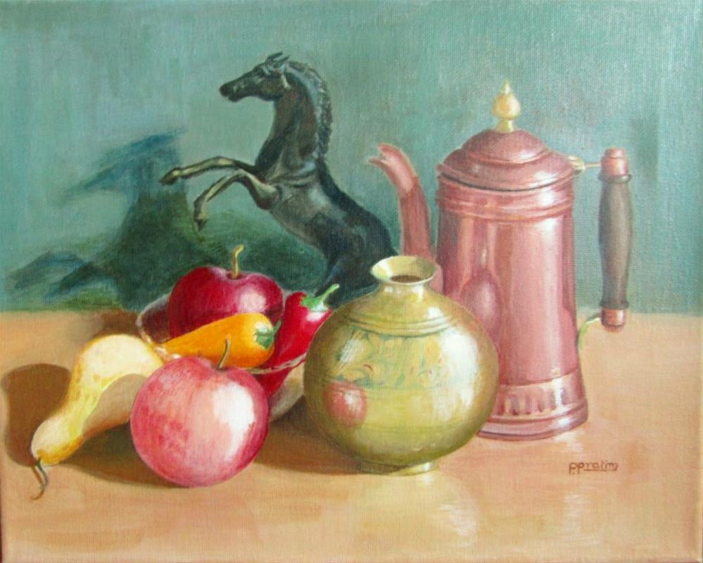 """Still life-2"" original fine art by Pratima Patel"