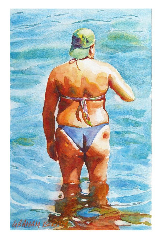 """""""In the sea."""" original fine art by Graham Berry"""