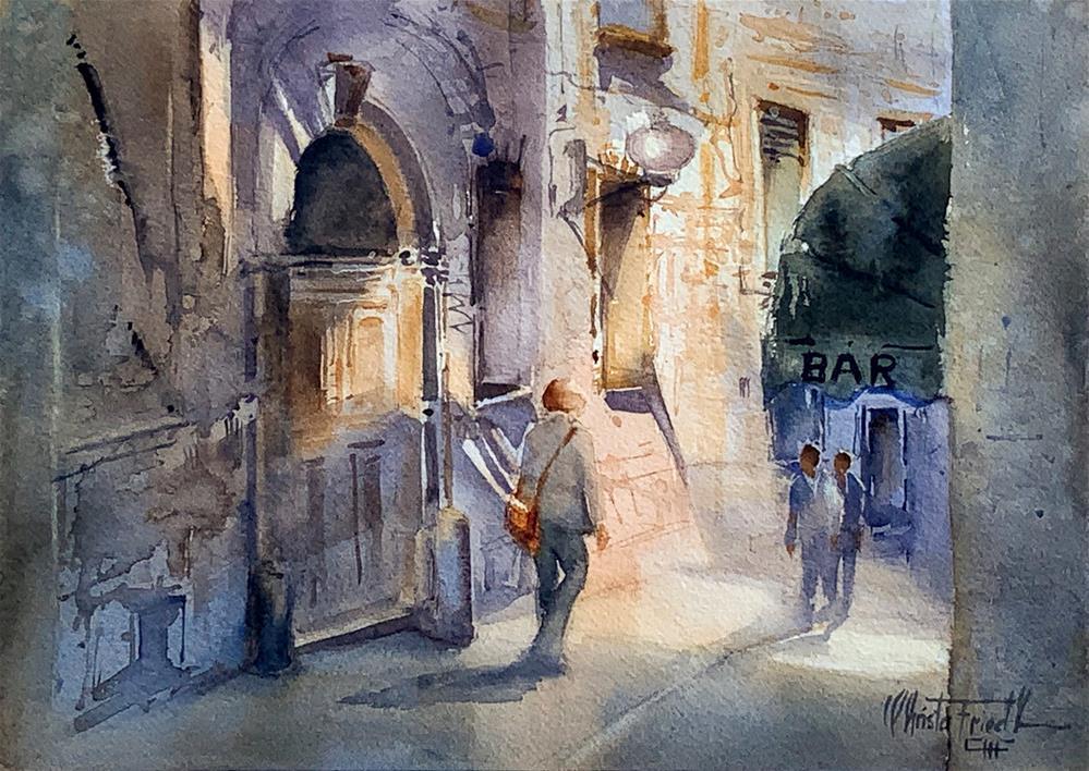 """Light and Shadow"" original fine art by Christa Friedl"