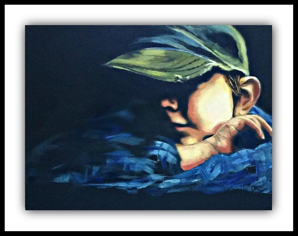 """""""Little Trooper"""" original fine art by Dana C"""