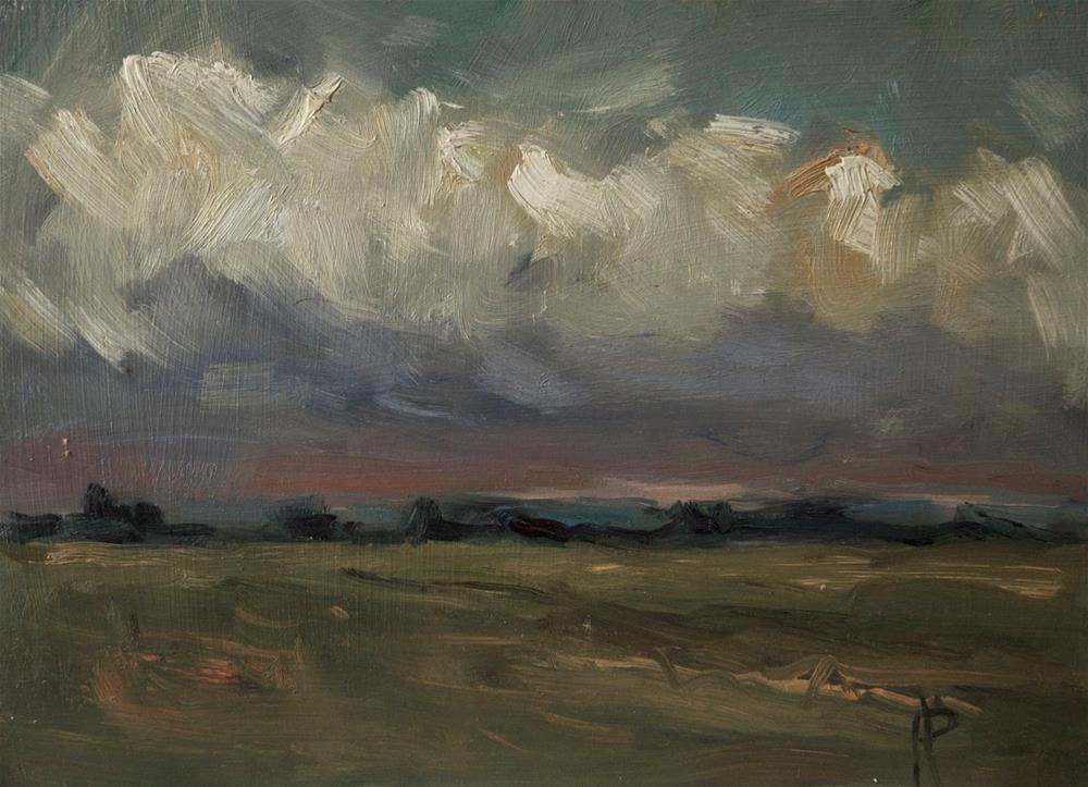 """Dark Sky 2"" original fine art by Andre Pallat"