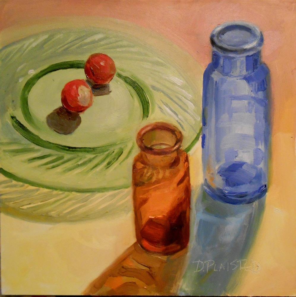 """Radishes"" original fine art by Diane Plaisted"