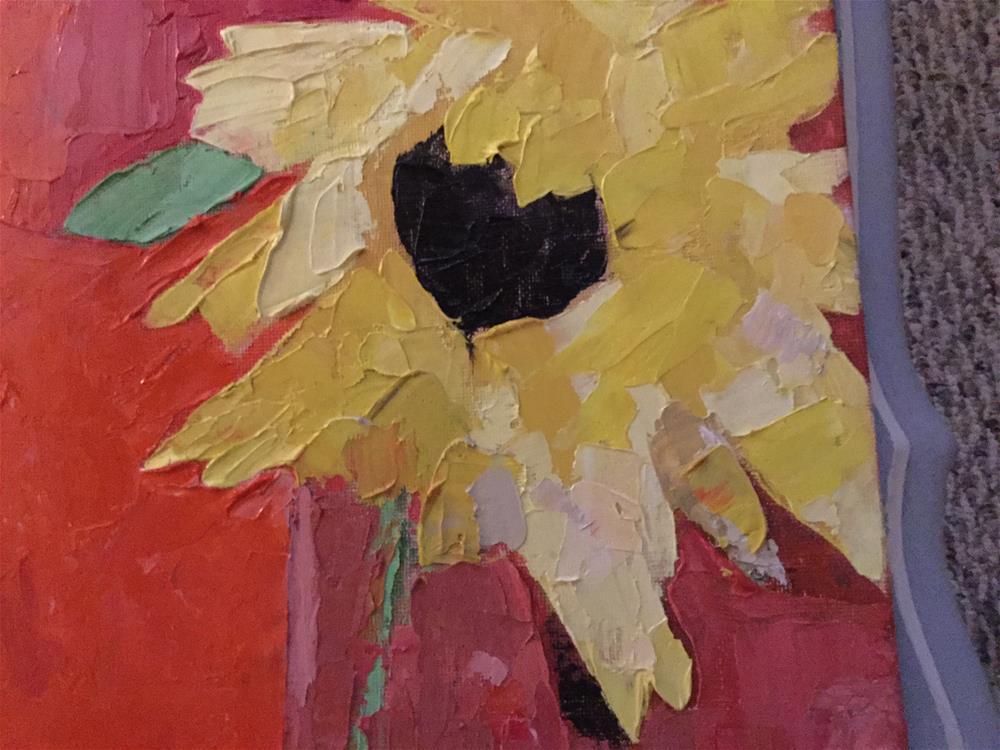 """""""Sunny day"""" original fine art by pamela kish"""