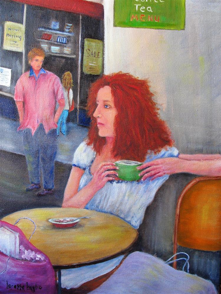 """""""Noticed"""" original fine art by Loretta Luglio"""