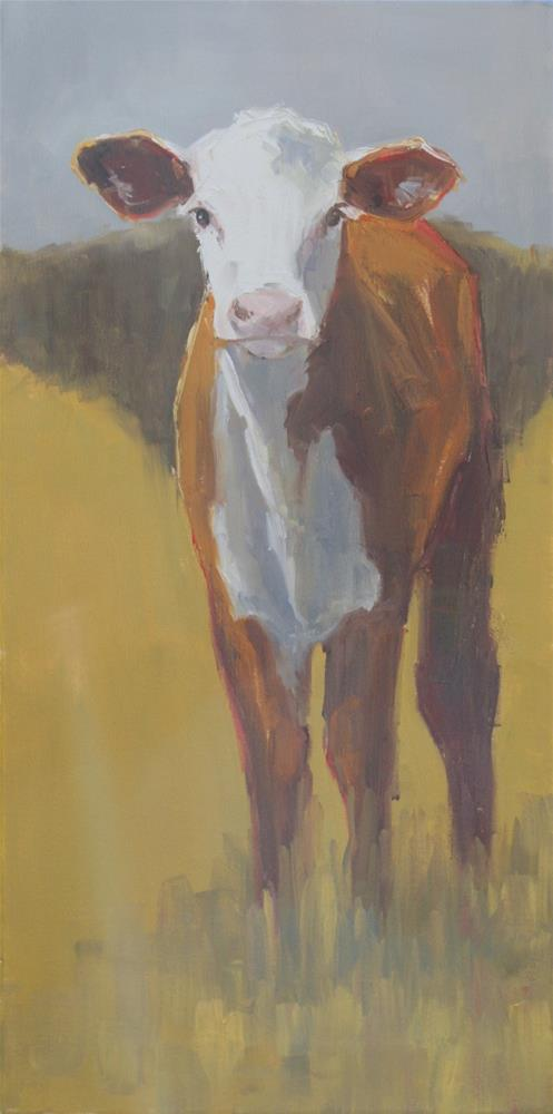 """leggy"" original fine art by Carol Carmichael"