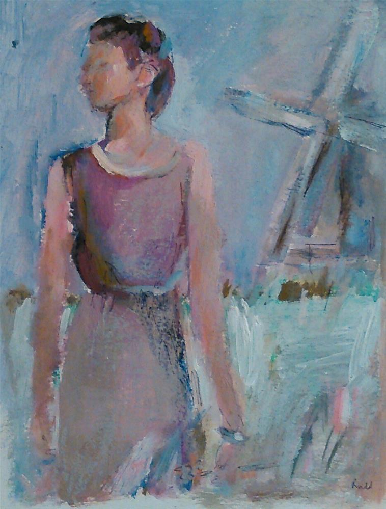 """""""Faraway"""" original fine art by Ann Rudd"""