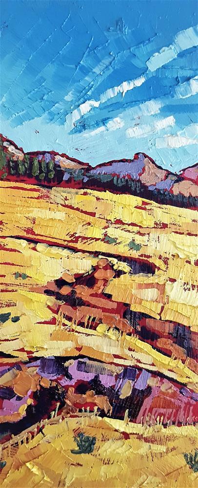 """Tuolumne Meadows"" original fine art by Bhavna Misra"