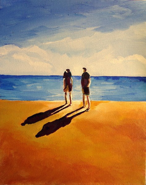 """Lake Lessons"" original fine art by Laurie Mueller"