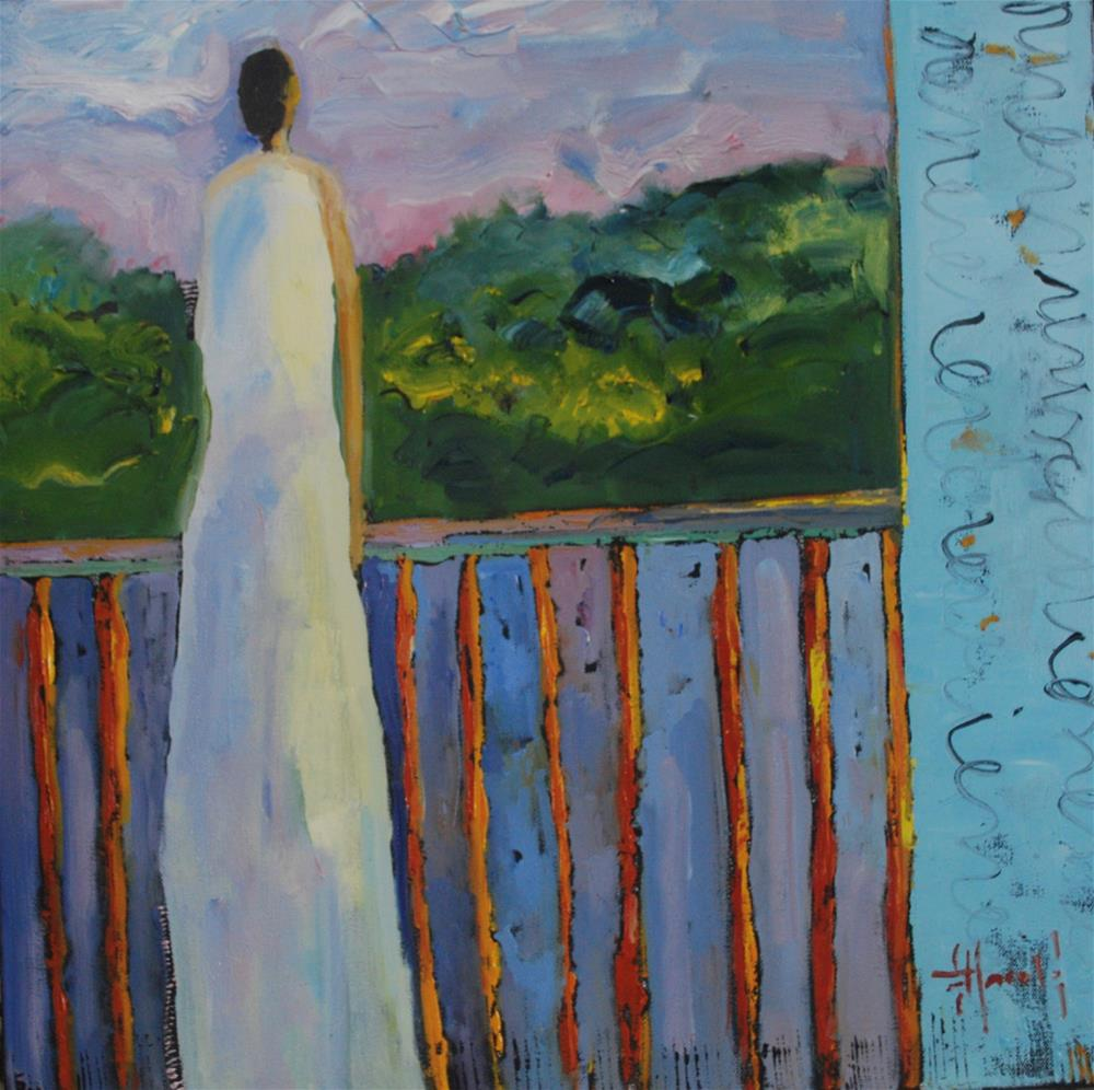 """Summer Storm"" original fine art by Deborah Harold"