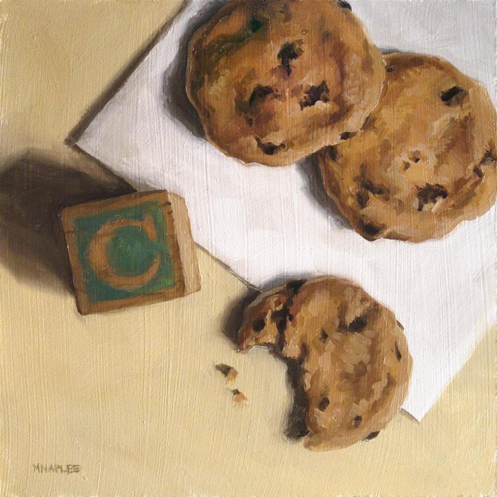 """C is for Cookie"" original fine art by Michael Naples"