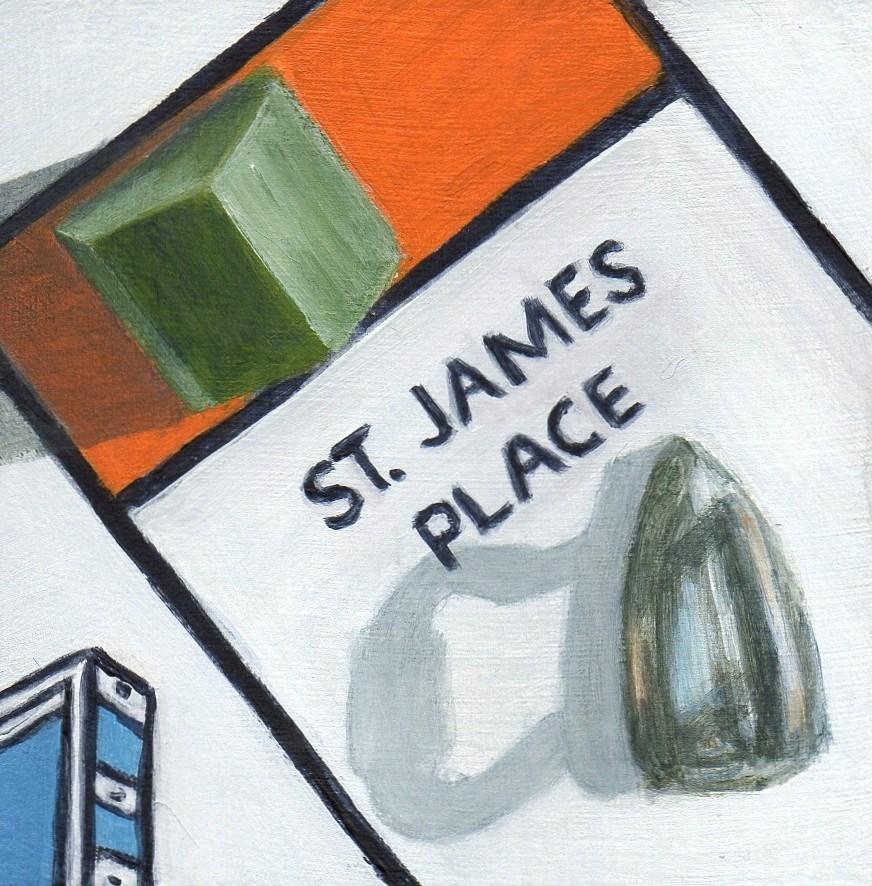 """St. James"" original fine art by Debbie Shirley"
