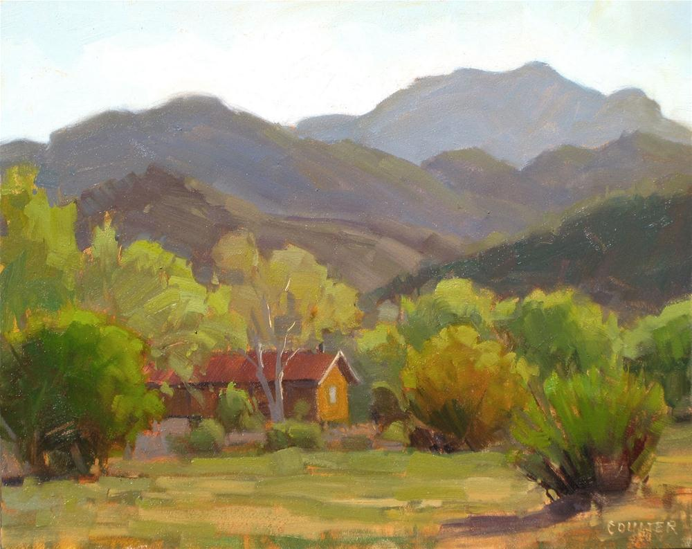 """RANCH HOUSE"" original fine art by James Coulter"