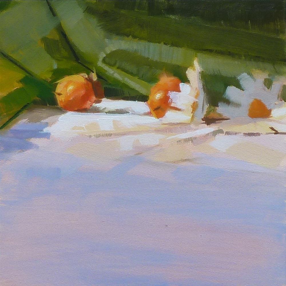 """Wild Persimmons #3-2012"" original fine art by Ron Ferkol"