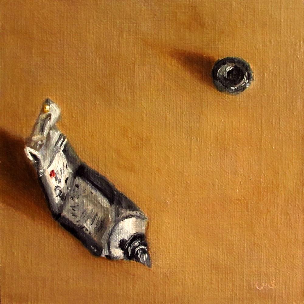 """Payne's Grey"" original fine art by Ulrike Miesen-Schuermann"