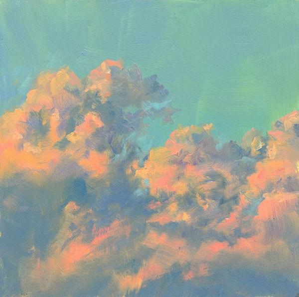"""The Sky's the Limit"" original fine art by Brenda Ferguson"