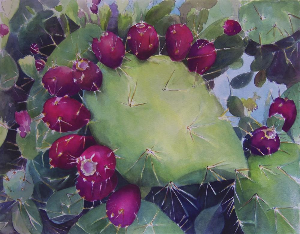 """Botanical Garden San Miguel de Allende"" original fine art by Susan Santiago"
