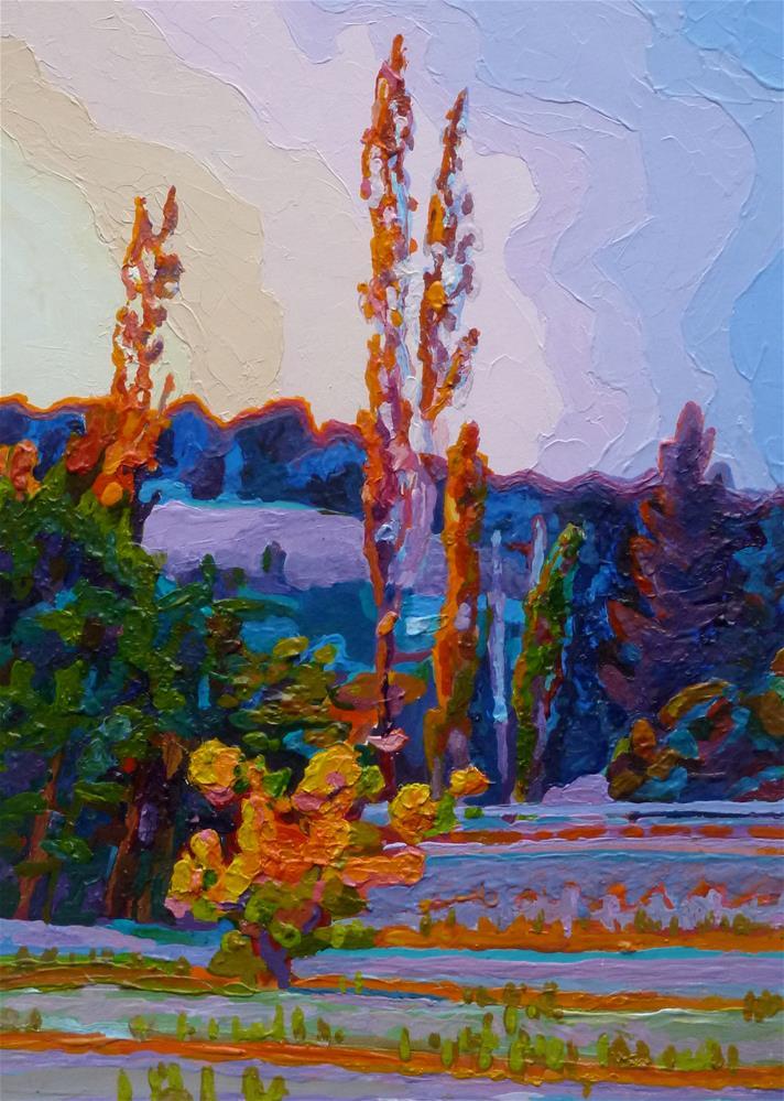"""""""Sweet September"""" original fine art by Mark Allison"""