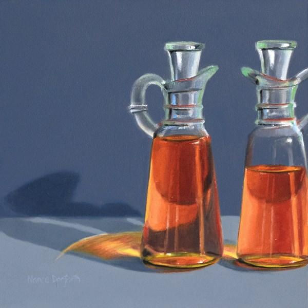"""Oil and Vinegar"" original fine art by Nance Danforth"
