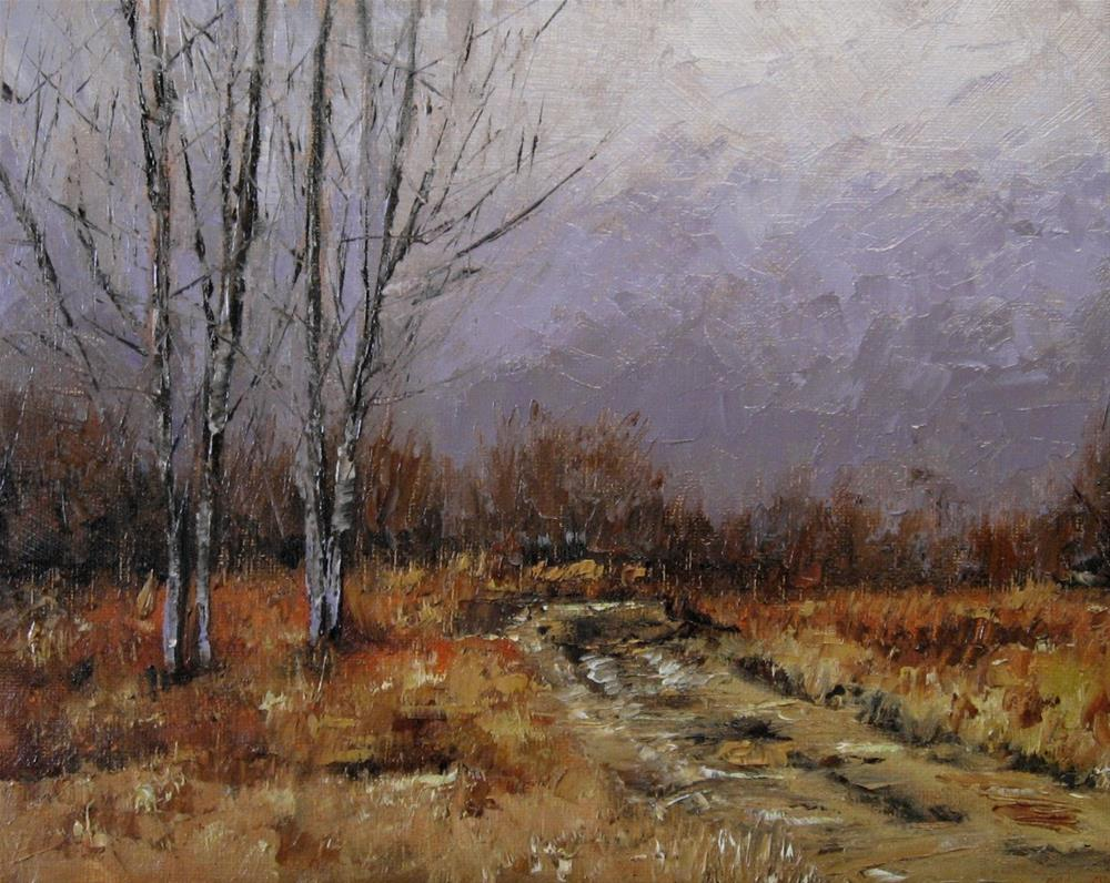 """8 x 10 inch oil Study"" original fine art by Linda Yurgensen"