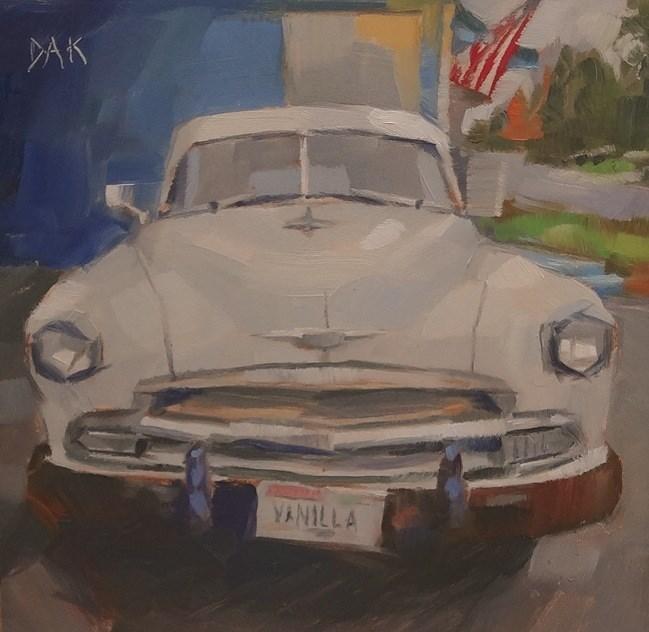 """Vanilla"" original fine art by Deborah Ann Kirkeeide"