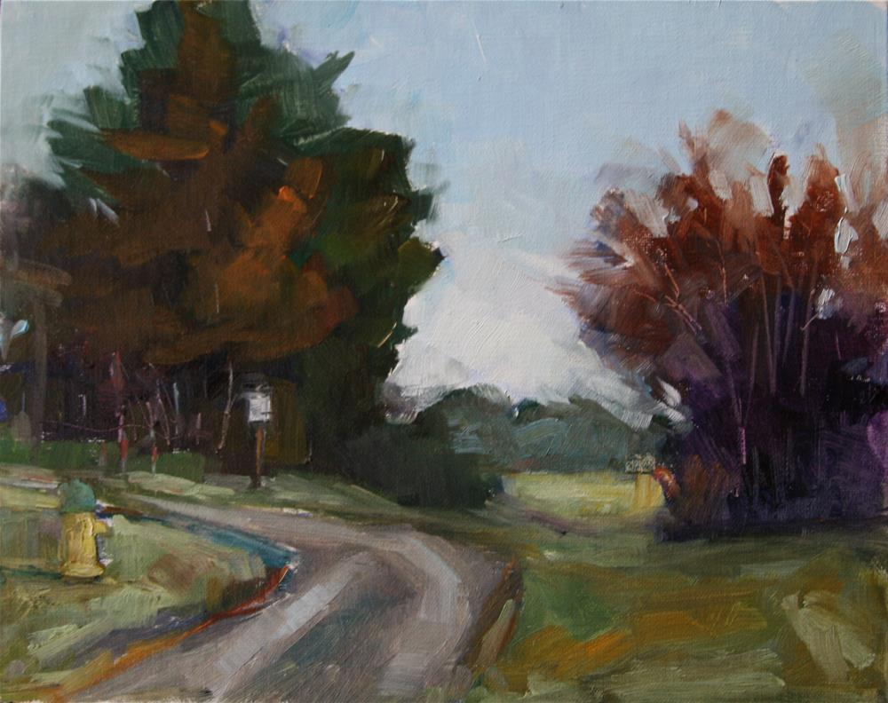 """Morning at Chatham"" original fine art by Carol Josefiak"