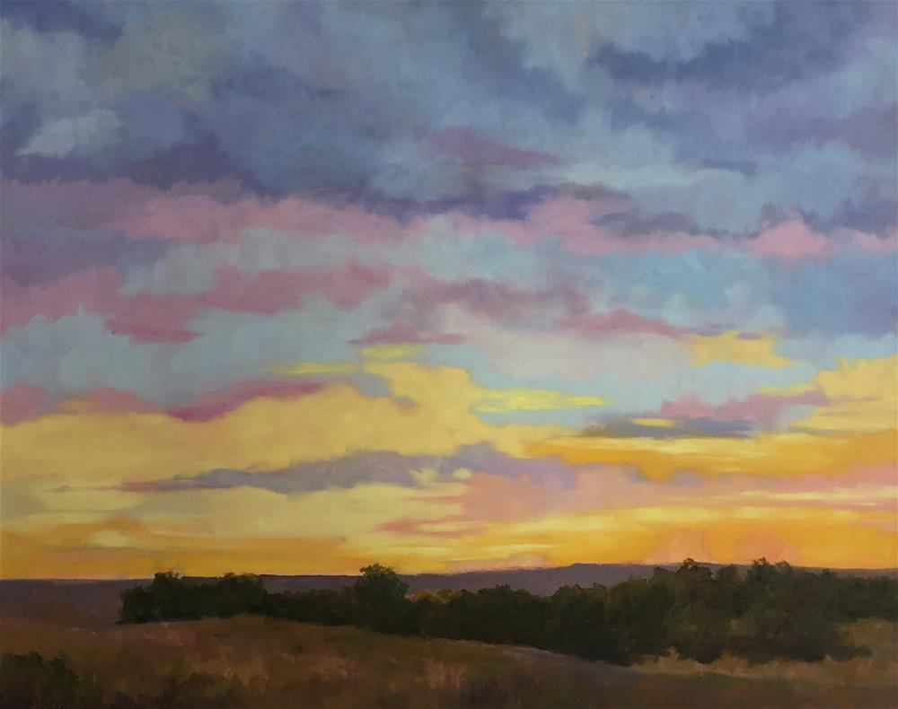 """""""Early Morning"""" original fine art by Pam Holnback"""