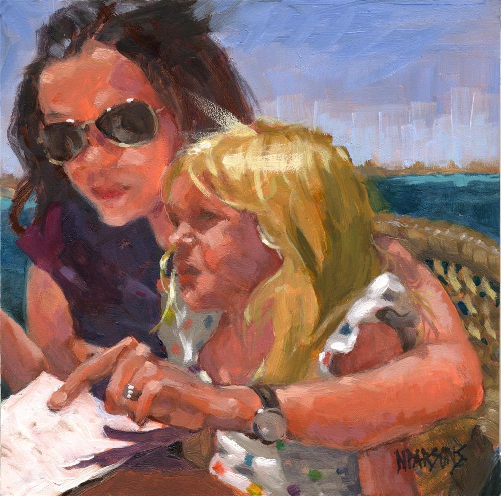"""""""SOLD- Focus Pocus"""" original fine art by Nancy Parsons"""
