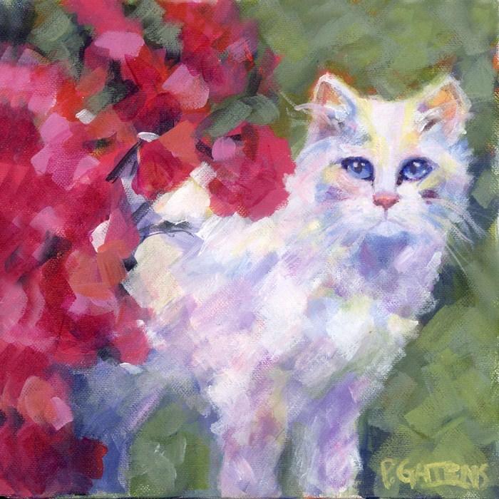 """""""American Beauty"""" original fine art by Pamela Gatens"""